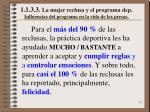 1 1 3 3 la mujer reclusa y el programa dep influencias del programa en la vida de las presas