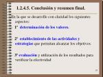 1 2 4 5 conclusi n y resumen final