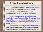 1 3 6 conclusiones