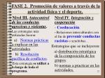 fase 2 promoci n de valores a trav s de la actividad f sica y el deporte1
