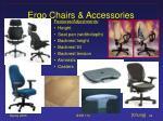 ergo chairs accessories