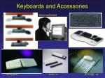 keyboards and accessories
