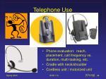 telephone use
