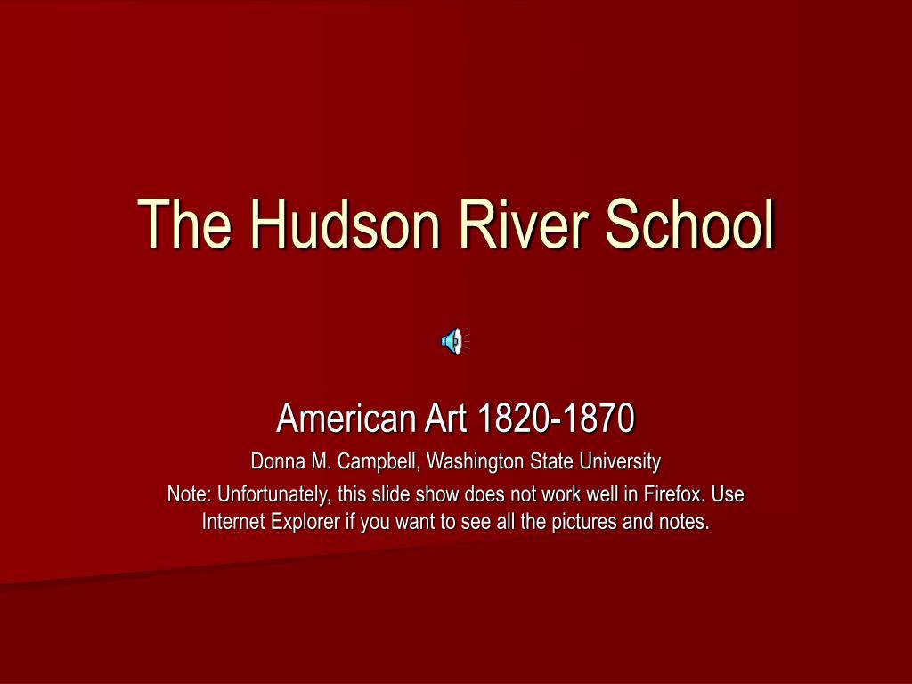the hudson river school l.