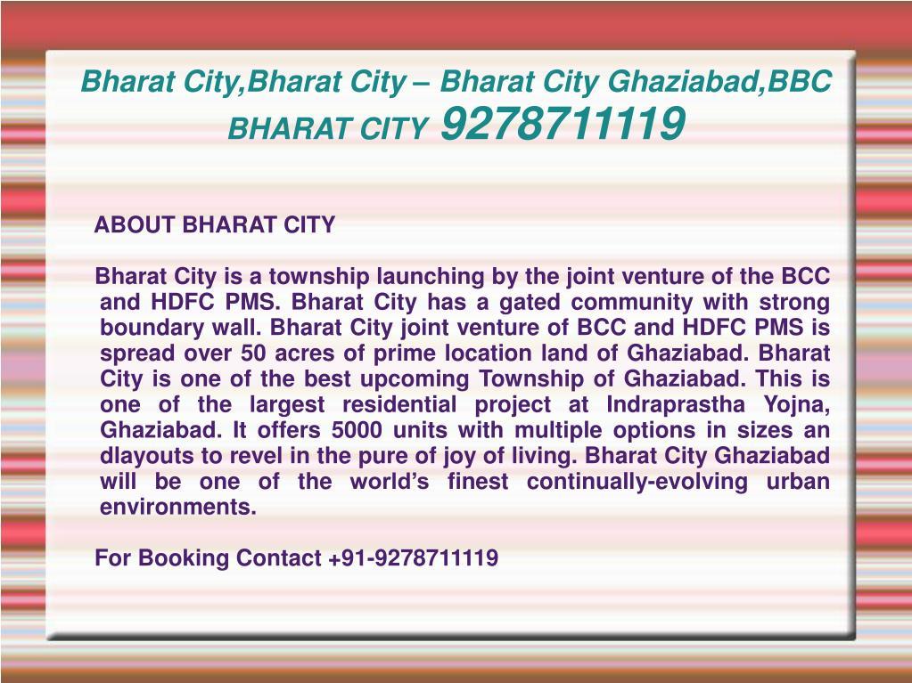 bharat city bharat city bharat city ghaziabad bbc bharat city 9278711119 l.