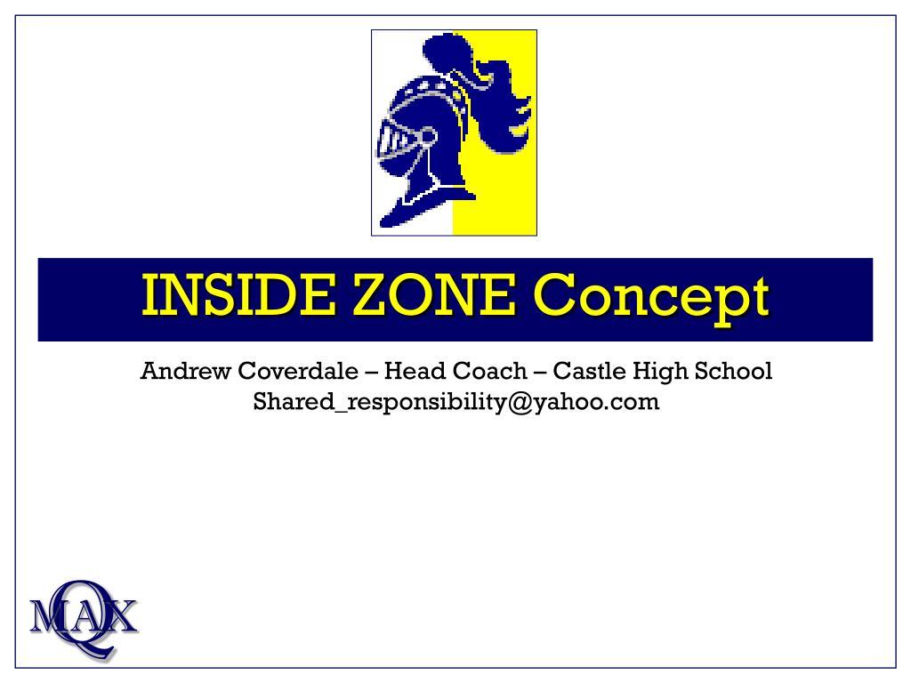 inside zone concept l.