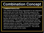 combination concept