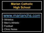 marian catholic high school2