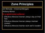 zone principles