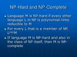 np hard and np complete