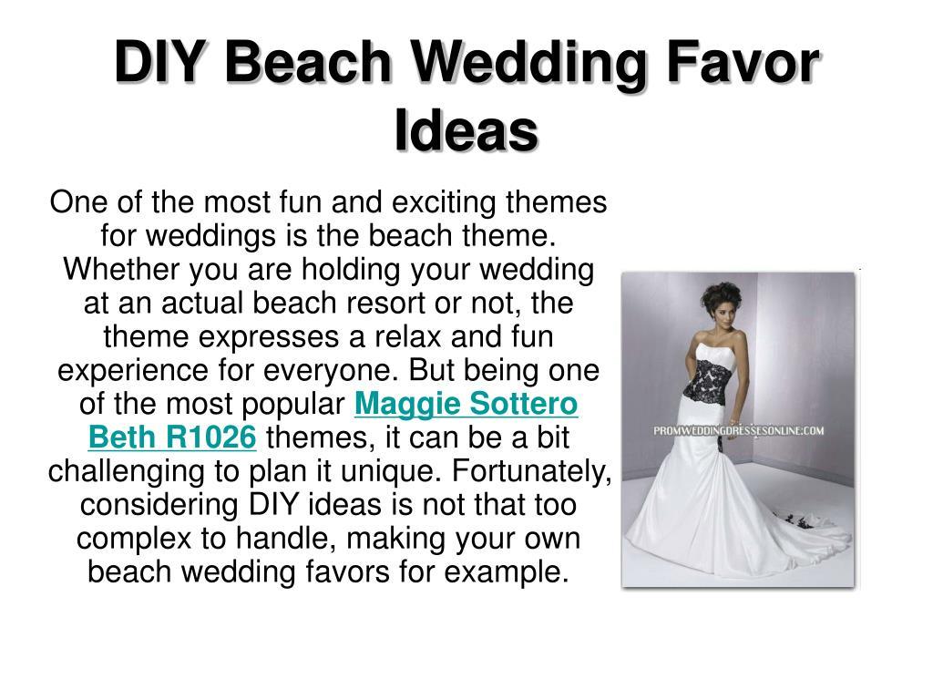 diy beach wedding favor ideas l.