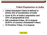 tribal population in india
