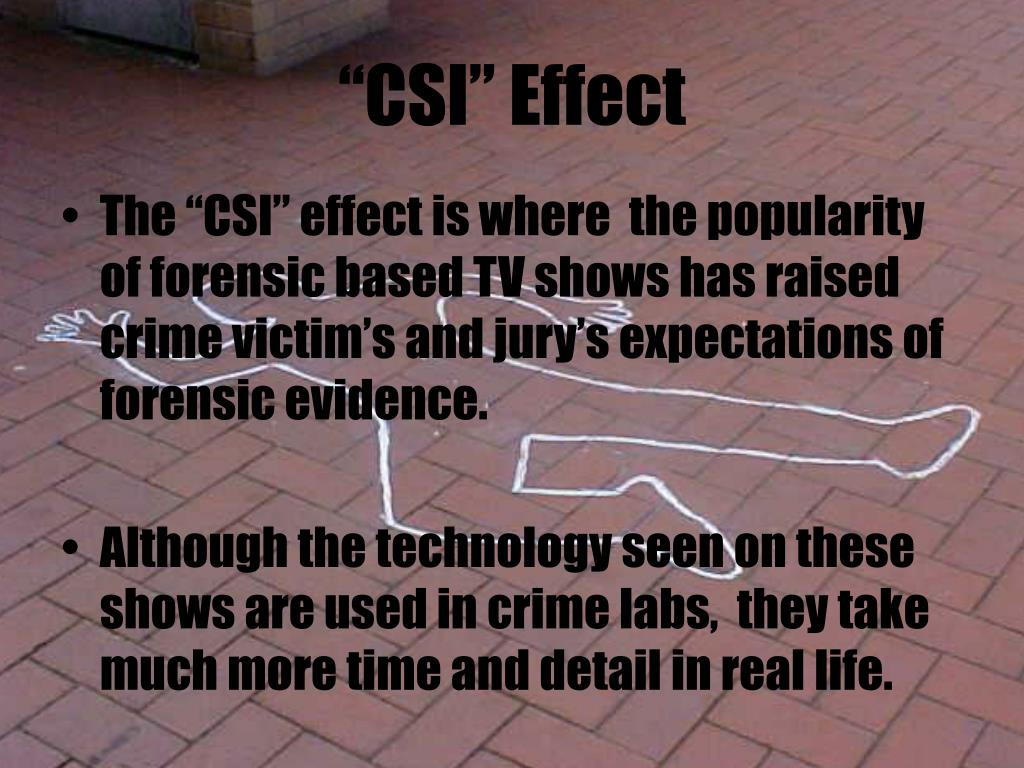"""CSI"" Effect"