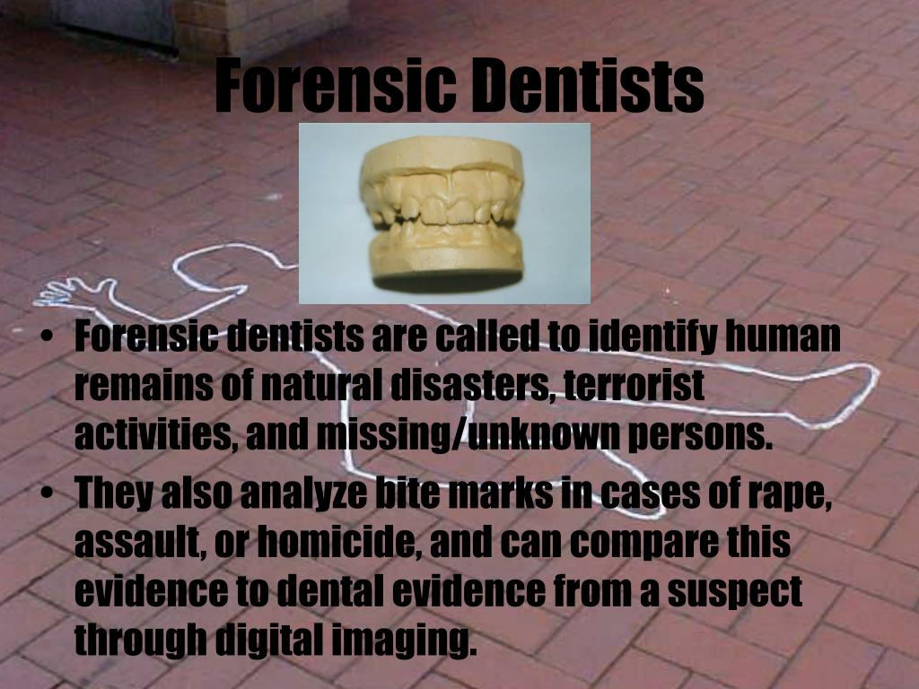 Forensic Dentists