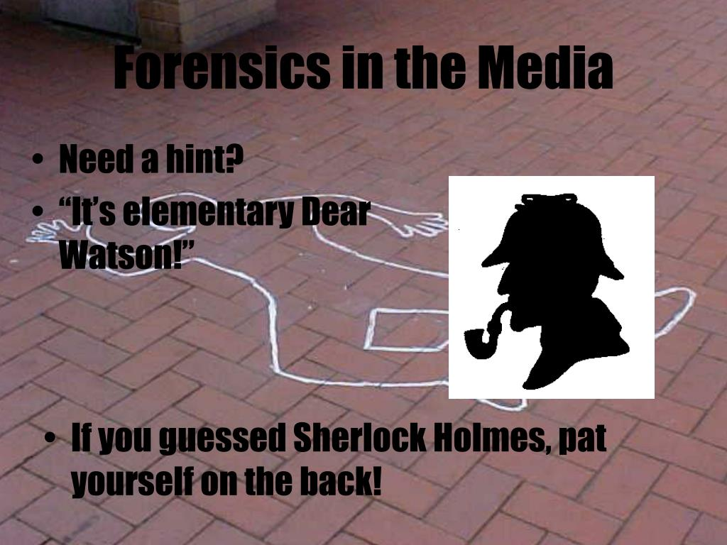 Forensics in the Media