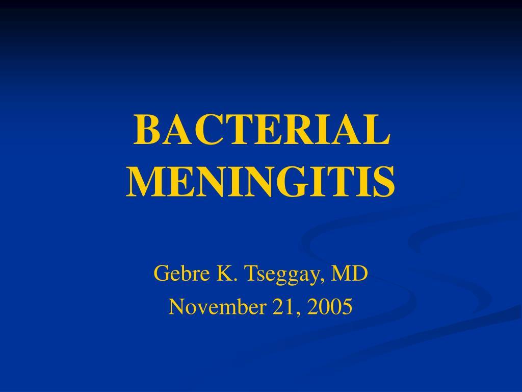 bacterial meningitis l.