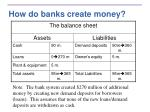 how do banks create money24