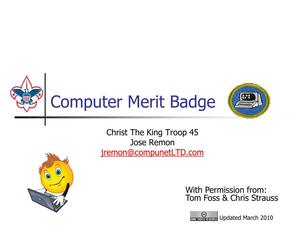 computer merit badge l.