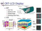 crt lcd display