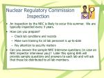 nuclear regulatory commission inspection