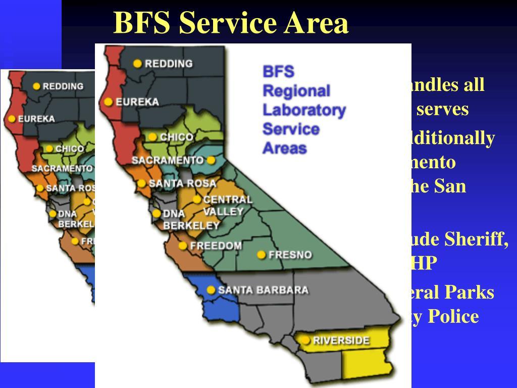 BFS Service Area
