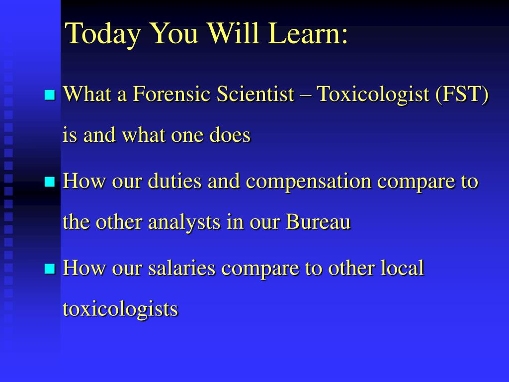 Today You Will Learn: