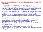scientific accomplishments of serge l beaucage since the site visit