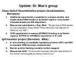 update dr max s group