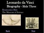 biography slide three