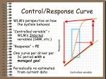 control response curve27