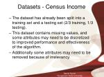 datasets census income9