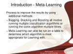 introduction meta learning