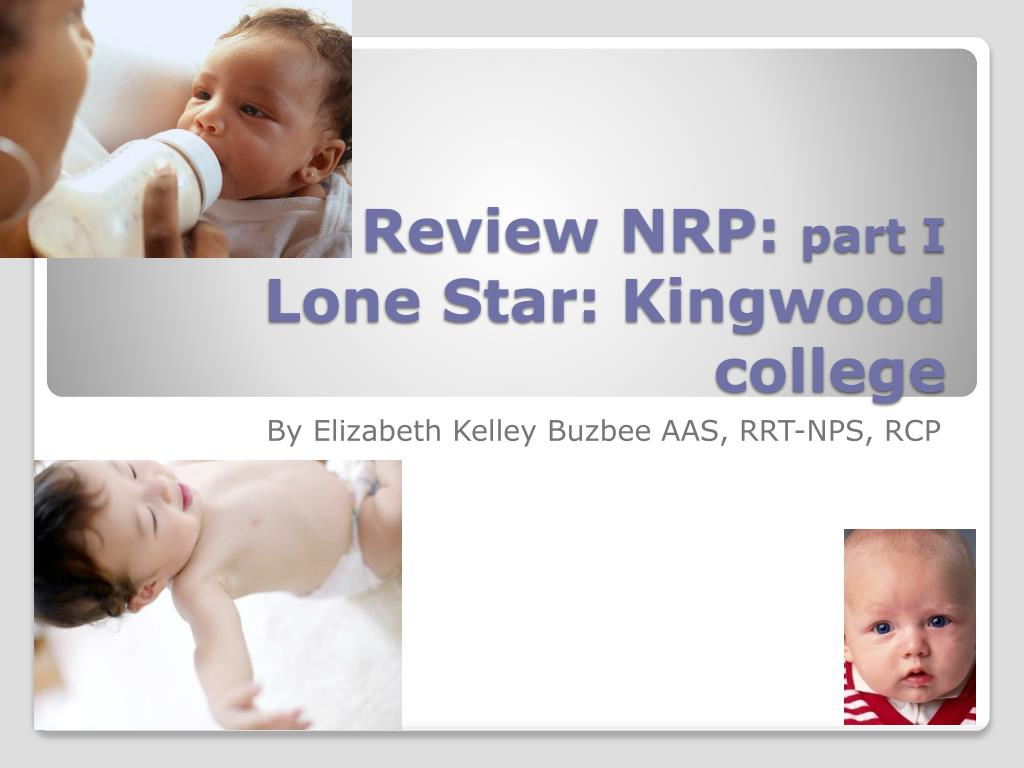 review nrp part i lone star kingwood college l.
