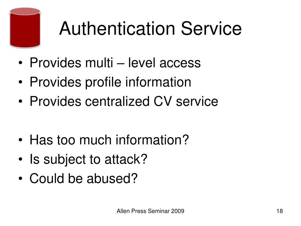 Authentication Service