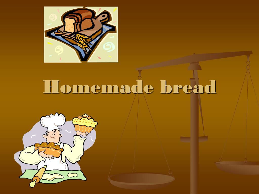 homemade bread l.