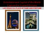 entertainment capital of the world captured in framed pictures4