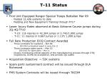 t 11 status