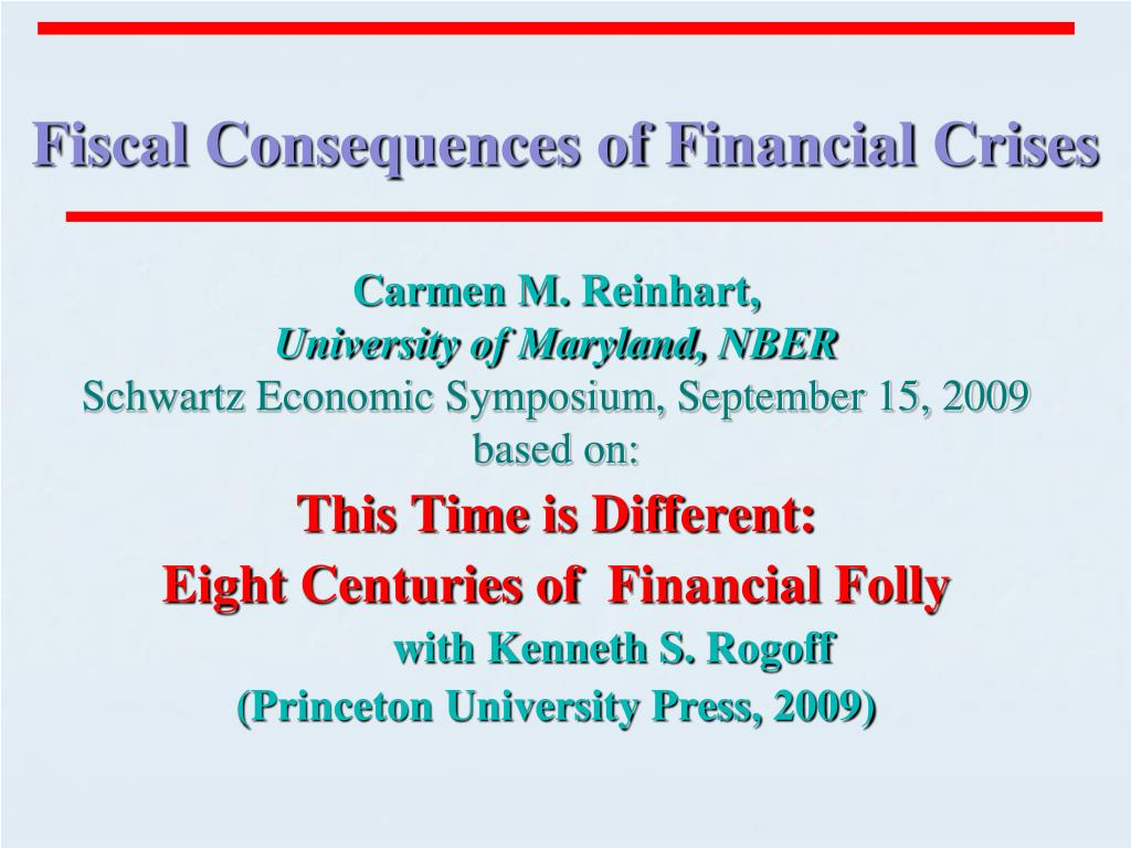fiscal consequences of financial crises l.