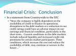financial crisis conclusion25