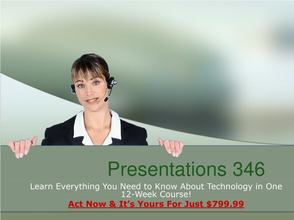 presentations 346 l.