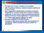 k99 r00 option for transition