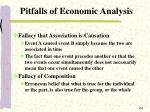 pitfalls of economic analysis24