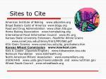 sites to cite
