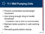 11 1 well pumping units81