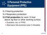 5 personal protective equipment ppe14