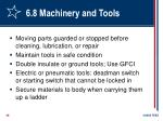 6 8 machinery and tools28