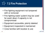 7 2 fire protection