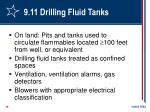 9 11 drilling fluid tanks