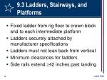 9 3 ladders stairways and platforms