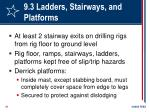 9 3 ladders stairways and platforms51
